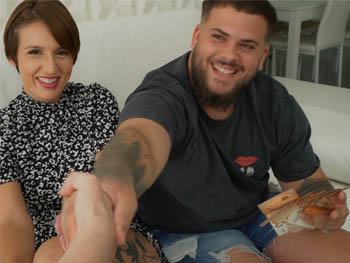 Mi novia QUIERE UN NEGRO. Por 700€ es vuestra, ¿aceptais? SPOILER: Como goza Myss Alessandra con EL POLLON del cubano sabroson